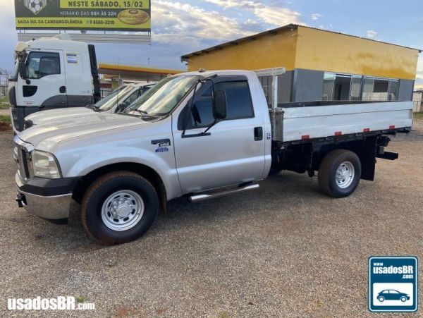 FORD F-350 3.9 TURBO Prata 2006