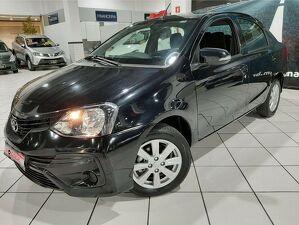 Toyota Etios 1.5 X Plus 16V Preto 2020