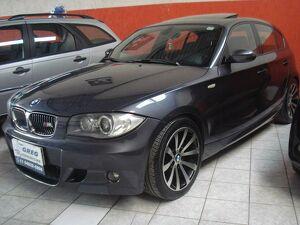 BMW 130i 3.0 Sport Cinza 2008
