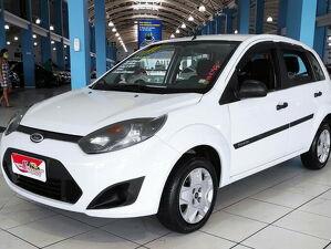 Ford Fiesta 1.6 SE 8V Branco 2011