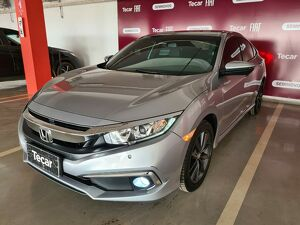 Honda Civic 2.0 EXL Cinza 2020