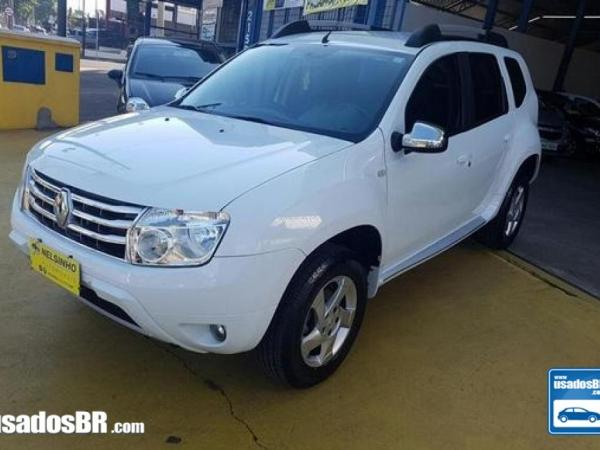 Foto do veiculo RENAULT DUSTER 1.6 DYNAMIQUE Branco 2015