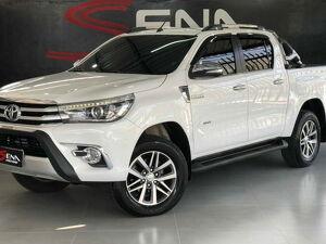 Toyota Hilux 2.8 SRX Branco 2017