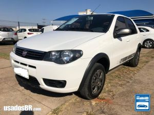 FIAT PALIO 1.0 FIRE WAY 8V Branco 2015