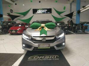 Honda Civic 1.5 Touring Turbo Prata 2018