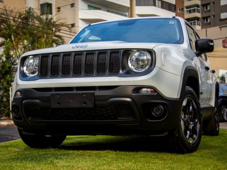 Jeep Renegade 1 8 16v Branco 2020 2020 Goiania 1025654
