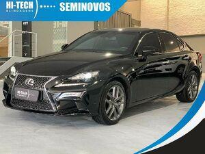 Lexus IS 250 2.5 V6 Preto 2014