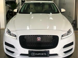JAGUAR F-PACE 2.0 PRESTIGE TURBO Branco 2017