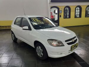 Chevrolet Celta 1.0 LT 8V Branco 2015