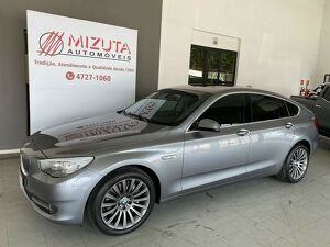 BMW 535i 3.0 GT Turbo Cinza 2011