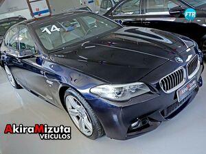 BMW 528i 2.0 M Sport Preto 2014