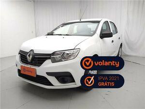 Renault Logan 1.0 Authentique Branco 2021