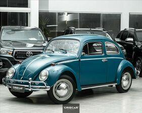 Volkswagen Fusca 1.2 8V Azul 1965