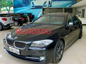 BMW 535i 3.0 6 Cilindros Turbo Preto 2011