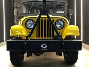 Ford Jeep CJ-5 Amarelo 1974