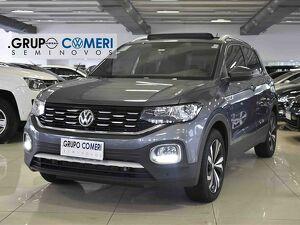 Volkswagen T-cross 1.4 250 TSI Highline Cinza 2021