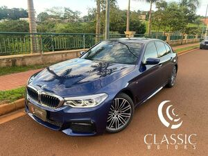 BMW 540i 3.0 M Sport Turbo Azul 2018