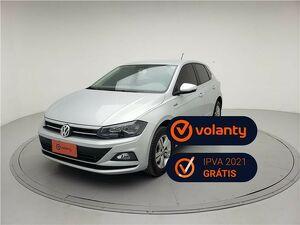 Volkswagen Polo Hatch 1.0 200 TSI Comfortline Prata 2020