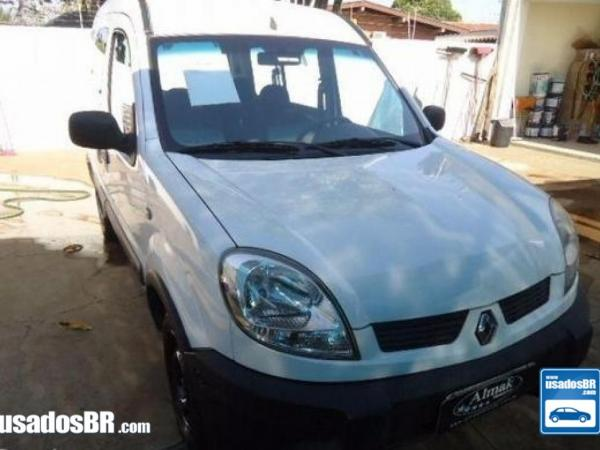 RENAULT KANGOO 1.6 AUTHENTHIQUE Branco 2010
