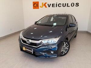 Honda City 1.5 EXL Azul 2018