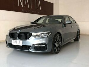 BMW 540i 3.0 M Sport Turbo Cinza 2019
