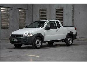 Fiat Strada CS 1.4 Hard Working Branco 2020