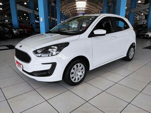 Ford KA 1.0 SE Plus 12V Branco 2020