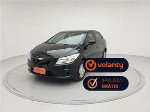 Chevrolet Onix 1.0 LS 8V Preto 2016