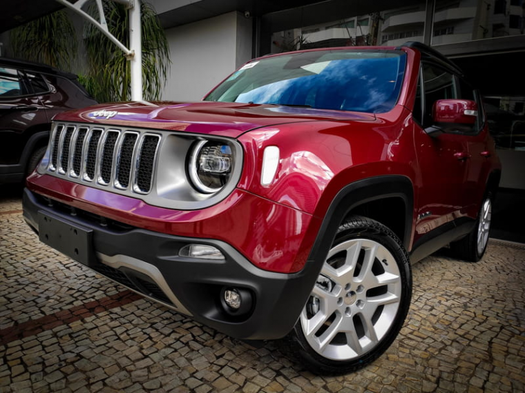 Jeep Renegade 1 8 Limited Vermelho 2020 2020 Goiania 1025642