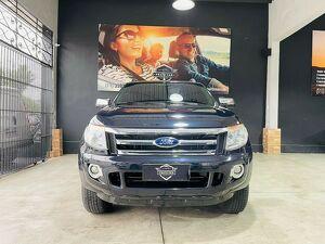 Ford Ranger 2.3 XLT 16V Preto 2014