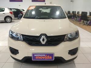 Renault Kwid 1.0 ZEN Bege 2020