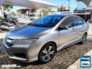 HONDA CITY 1.5 LX Cinza 2015