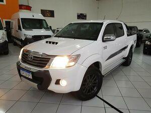 Toyota Hilux 3.0 SRV Limited Edition Turbo Branco 2015