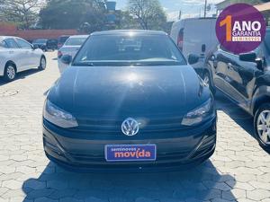 Volkswagen Polo Sedan 1.6 8V Preto 2020