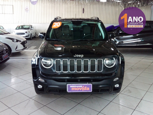Jeep Renegade 1.8 Longitude Preto 2020