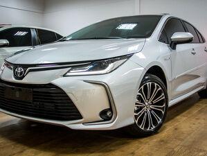 Toyota Corolla 1.8 Altis Premium Hybrid Prata 2020