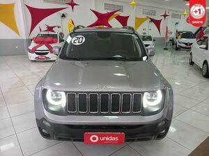 Jeep Renegade 1.8 Longitude Prata 2020