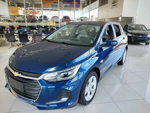 Chevrolet Onix 1.0 Premier Turbo Azul 2022