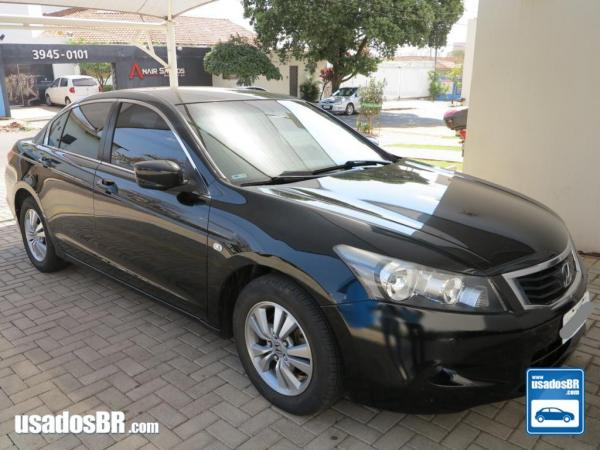 HONDA ACCORD 2.0 EX Preto 2010