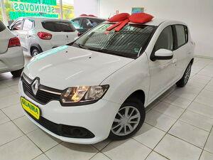 Renault Sandero 1.0 Expression Branco 2018