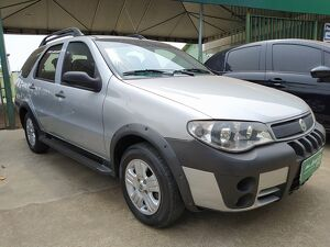 FIAT PALIO WEEKEND 1.8 ADVENTURE 8V Prata 2007