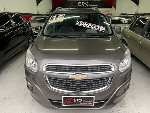 Chevrolet Spin 1.8 LT 8V Cinza 2015