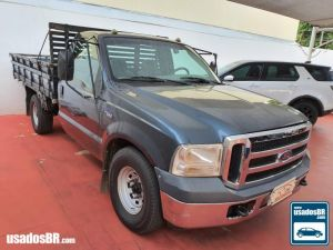 FORD F-350 3.9 TURBO Cinza 2011