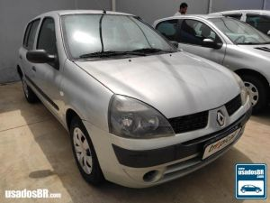 RENAULT CLIO 1.0 AUTHENTIQUE Prata 2004