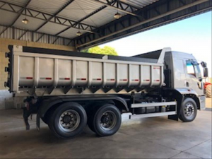 Ford Cargo 2429 E Turbo Bege 2016