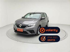 Renault Logan 1.0 12V SCE ZEN Cinza 2020
