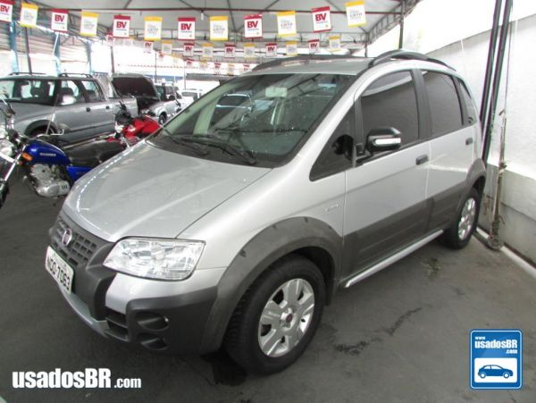 FIAT IDEA 1.8 ADVENTURE 8V Prata 2010