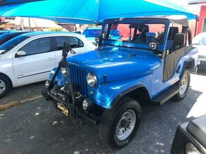 Willys Jeep 3.0 6 Cilindros 12V Azul 1957
