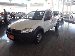 FIAT STRADA CS 1.4 HARD WORKING Branco 2020