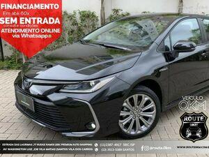 Toyota Corolla 2.0 GLI Preto 2021